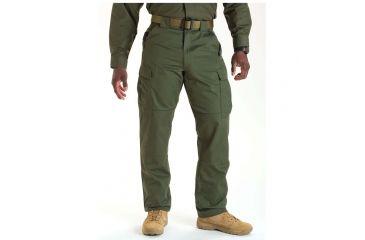5.11 Tactical 74004 TDU Poly/Cotton Twill Pants, TDU Green, 4XL, Long