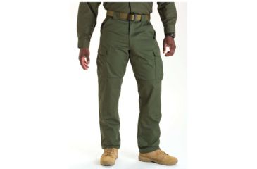 5.11 Tactical 74004 TDU Poly/Cotton Twill Pants, TDU Green, Extra Large, Short