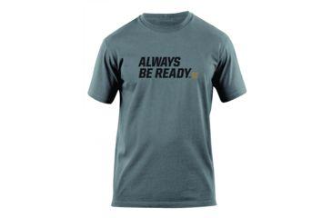 5.11 Tactical Always Be Ready Logo T Shirt - Charcoal - XL 41006AZ-018-XL