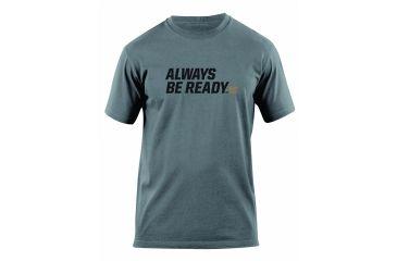 5.11 Tactical Always Be Ready Logo T Shirt - Charcoal - XXL 41006AZ-018-XXL