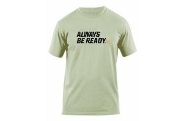 5.11 Tactical Always Be Ready Logo T Shirt - Tan - S 41006AZ-170-S