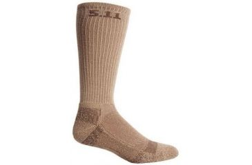 5.11 Tactical Cold Weather Crew Sock - Coyote, Size  S/M 10012-120-S/M