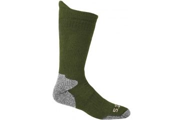 5.11 Tactical Cold Weather OTC Sock - Foliage, Size  L/XL 10011-180-L/XL
