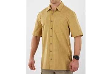 5.11 Tactical Covert Shirt Classic Short Sleeve - Clay - S 71198-045-S