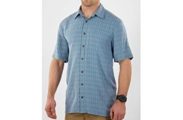 5.11 Tactical Covert Shirt Select Short Sleeve - Pacific - S 71199-733-S