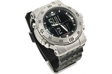 5.11 Tactical HRT Titanium Watch w/ Rubber Bracelet 59209