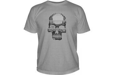 5.11 Tactical Logo TShirT Shirt Sleeve Bullet Skull, Cinder, XL 41006BL-089-XL