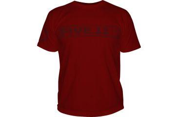 5.11 Tactical Logo TShirT Shirt Sleeve Pulling Rank, Cardinal, XXL 41006BU-470-XXL