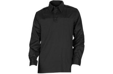 5.11 Tactical Ls PDU Rapid Shirt - Black, Length T, Size 5XL 72197-019-5XL-T