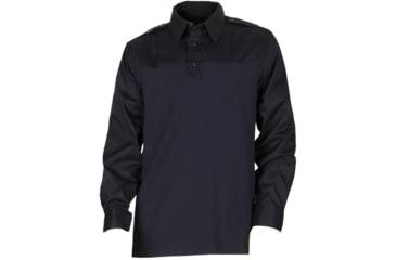 5.11 Tactical Ls PDU Rapid Shirt - Midnight Navy, Length R, Size S 72197-750-S-R