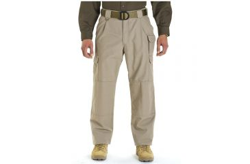 5.11 Tactical Men's Tactical Cotton Pants, Big & Tall - Khaki, Size 50