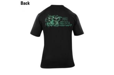 5.11 Tactical Short Sleeve Logo Tee-no Easy Way 40088A-019