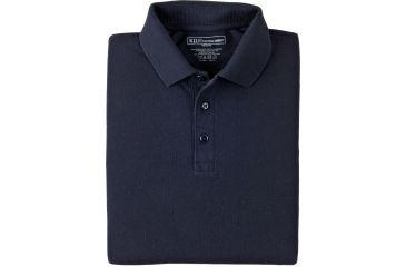 5.11 Tactical Short Sleeve Utility Polo Shirt - Dark Navy, Size  L 41180-724-L