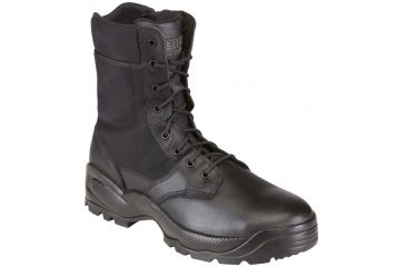 5.11 Tactical Speed 2.0 8in. Boots w/ Side Zip - Black, Width R, Size 10 12225-019-10-R
