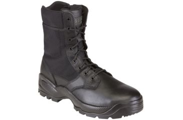 5.11 Tactical Speed 2.0 8in. Boots w/ Side Zip - Black, Width R, Size 6 12225-019-6-R