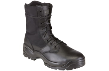 5.11 Tactical Speed 2.0 8in. Boots w/ Side Zip - Black, Width R, Size 7.5 12225-019-7.5-R