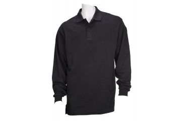 5.11 Tactical Tactical Long Sleeve Polo - Black - 4XL 72048-019-4XL
