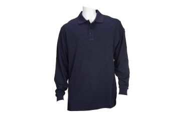 5.11 Tactical Tactical Long Sleeve Polo - Dark Navy - 4XL 72048-724-4XL