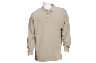 5.11 Tactical Tactical Long Sleeve Polo - Silver Tan - 4XL 72048-160-4XL
