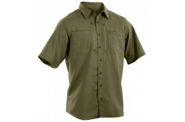 5.11 Tactical Traverse Short Sleeve Shirt, Fatigue, L 71333-200-L