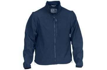 5.11 Tactical Valiant Softshell Jacket - Dark Navy - L 48167-724-L