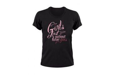 5.11 Tactical Wanna Have Guns Logo T Shirt - Black - L 31002AF-019-L
