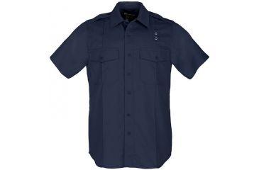 5.11 Tactical Wmn's Taclite PDU S/S Class B Shirt, Midnight Navy, Size L-R 61168-750-MIDNIGHT NAVY-L-R
