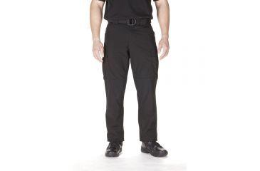 5.11 Tactical TDU Adjustable Ripstop Men's Pants, Black, Extra Small - 23.5-27in Waist, Short 29.5in Inseam
