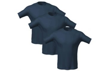 5.11 Utili-T Crew Shirt, Three Pack, Color: Dark Navy