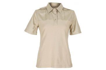 5 11 Women S Pdu Short Sleeve B Class Silver Tan Shirt Oversized Size 3x Long 61162w 160 3xl