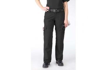 5.11 Women's Taclite EMS Pants - Black, L, Size 12 64369-019-12-L
