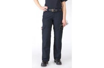 5.11 Women's Taclite EMS Pants, Dark Navy, Size 4 Long