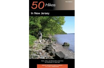 50 Hikes New Jersey, Green, Zimmerman, Publisher - W.w. Norton & Co