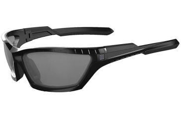 5.11 Tactical CAVU FF Full Frame Two-Tone Polarized Lens Sunglasses, Black, 52031-019-BLACK-1 SZ