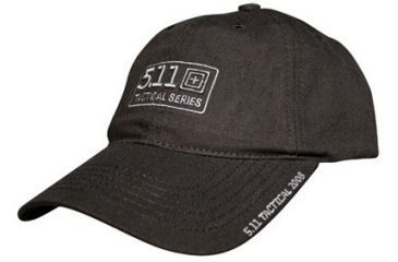 5.11 Hat w/ 5.11 Tactical Logo, Black, Cap 89252HB