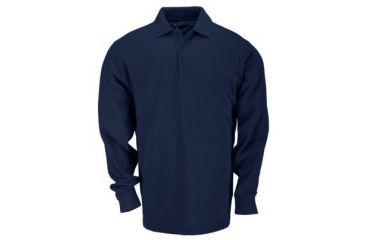 5.11 Professional Polo, Long Sleeve,   Dark Navy-5XL 42056T