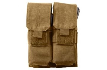 5.11 Stacked Double Mag Pouch w/ Cover, Flat Dark Earth