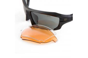 511 Replacement Lens for Burner Half Frame, Smoke, 52036-031