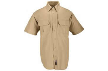 5.11 Tactical Shirt w/ Short Sleeves - Coyote Brown