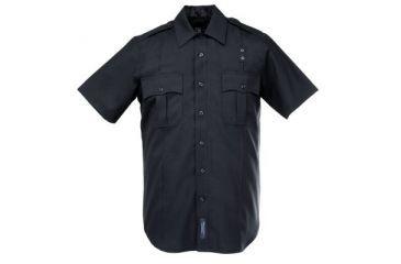 5.11 Men's B Class Shirt, Short Sleeve, Black
