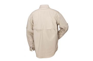 5.11 Tactical Pro Shirt Long Sleeve, Cotton 72157, Khaki, Size XS KHAKI-XS