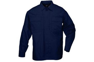 5.11 Tactical Taclite TDU Long Sleeve Shirt, Dark Navy
