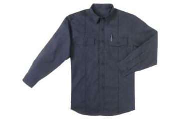5.11 Tactical Long Sleeve Station Shirt, Fire Navy
