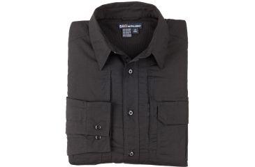 511 Womens Taclite Pro Long Sleeve Shirt, Black, Size L