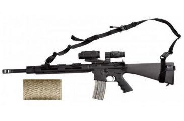 5.11 Tactical VTAC One Size Fits All Two-Point Sling, No Padding, Sandstone 59120-328-1 SZ