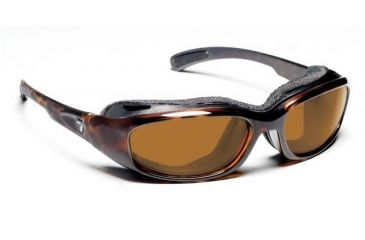 7 Eye Churada Dark Tortoise Re-ACT NXT Copper Sunglasses 160621