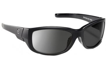 7 Eye Dillon Casual Street Sunglasses, Matte Black, SharpView Polarized Gray PC Lenses 860153