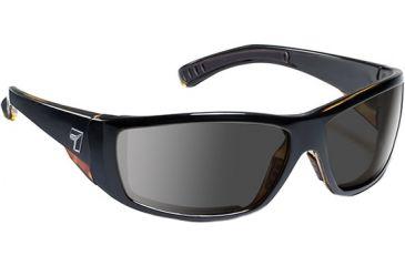 7 Eye Maestro Sunglasses, Black Tortoise Frame, SharpView Gray Lens 595541