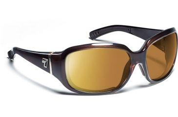 7 Eye Mistral- Crystal Chocolate Sunglasses, S-M 583440