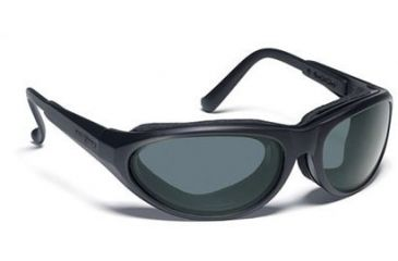 b3d0cc4abce 7Eye Warrior Tactical Sunglasses w  Day Night Lens Matte Black Gray ...